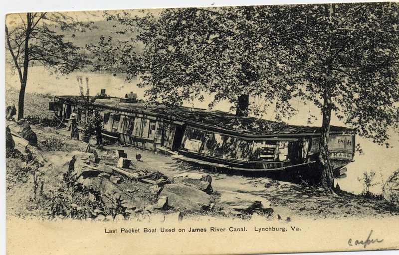 Last Packet Boat used on the James River Canal (03036)