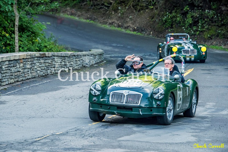 Watkins Glen Grand Prix Festival -  Cars at The Stone Bridge -  Friday 9/ 8/2017 - Chuck Carroll