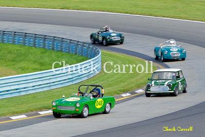 Watkins Glenn  - Vintage Grand Prix - Thursday September 5. 2013