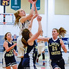 Amanda Pike led the Watkins Glen Senecas with 30 points during the Saturday regional game. Photo by Don Romeo.