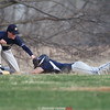 Action during the Watkins Glen vs. Notre Dame baseball game, April 17, 2015.