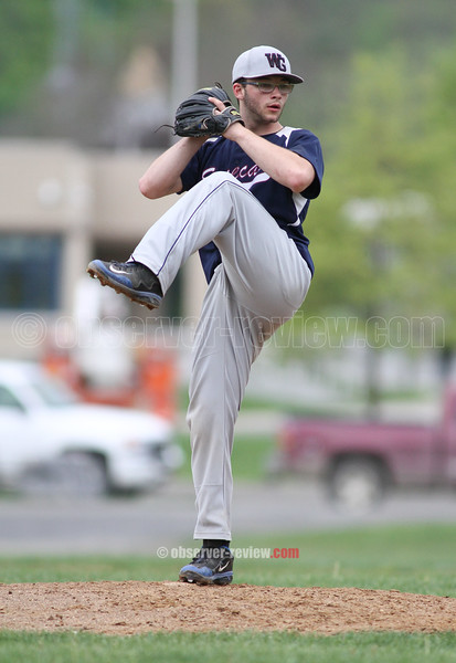 Action during the Watkins Glen vs. Spencer-Van Etten baseball game, May 13, 2015.