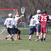 Action during the Watkins Glen vs. Elmira lacrosse game, April 17, 2015.