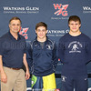 Interscholastic Athletic Conference (IAC) wrestling championships at Watkins Glen, Jan. 30, 2016.