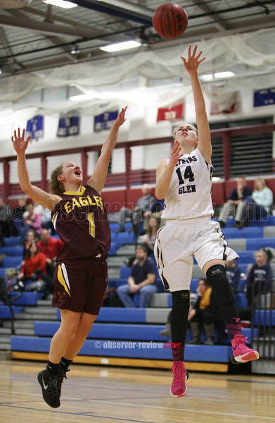 Watkins Glen Girls Basketball 1-20-16.