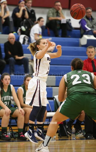 Watkins Glen Girls Basketball 12-19-15.