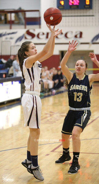 Watkins Glen Girls Basketball 2-11-16.