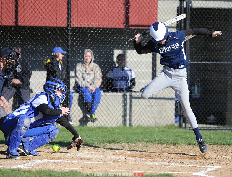 Watkins Glen Softball 4-1-16