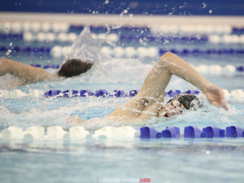 Watkins Glen and Odessa-Montour Boys Swimming 2-4-16.