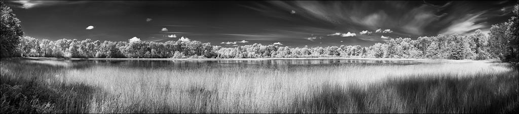 Rollins Lake Panorama