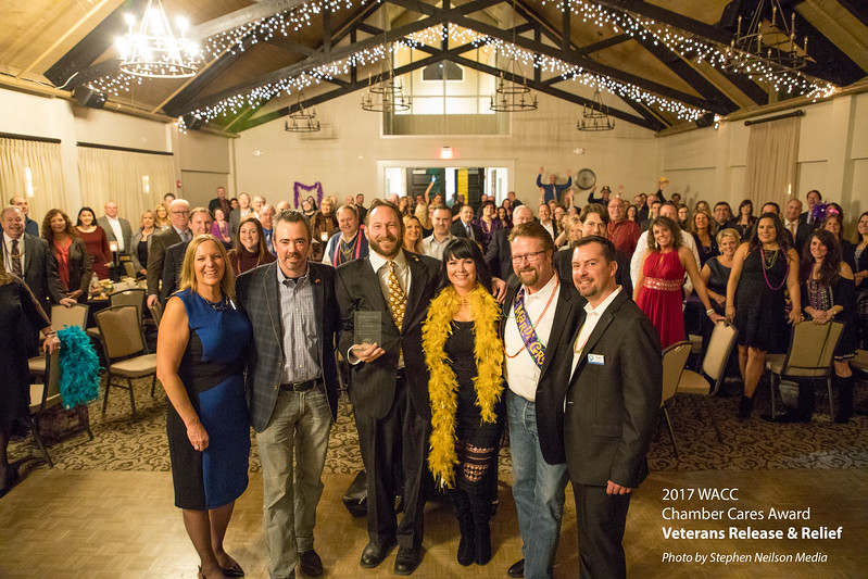 Veterans R&R receives the 2017 WACC Chamber Cares Award