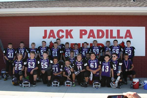 Waukee Football Tournament Team 2015