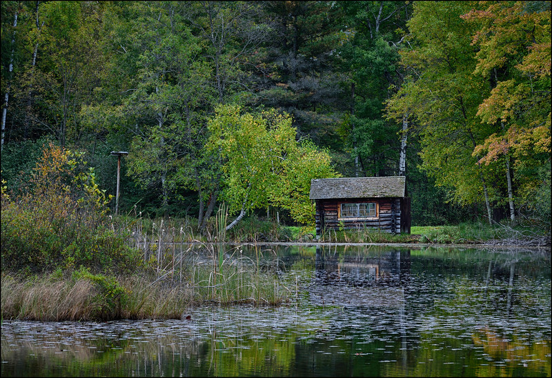 Pump House On Lily Lake