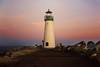 Pink and Purple Walton Lighthouse