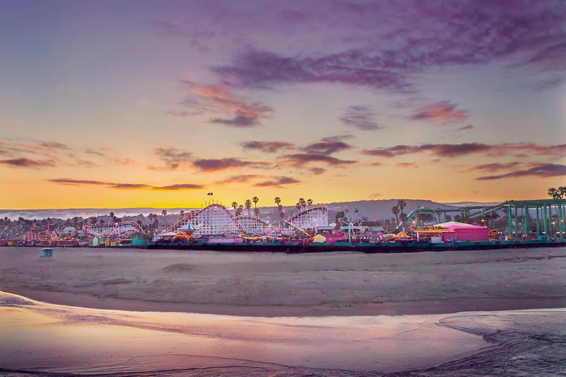 Cotton Candy Dreams at Santa Cruz Boardwalk