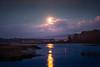 Pink Moon Over Elkhorn