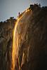 Yosemite Firefall Gold Flow