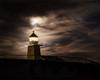 Dramatic Moody Lighthouse