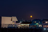 Moon Over Monterey Wharf