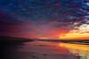 Pink Sunset Blanket