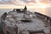 Cement Ship in the Sunset