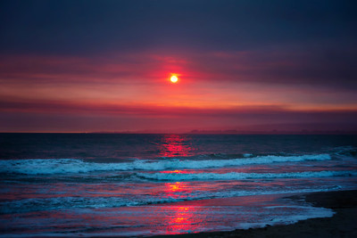 Pink Fire Sky