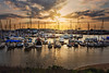 Golden Moss Landing Harbor