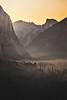 Golden Yosemite Sunrise