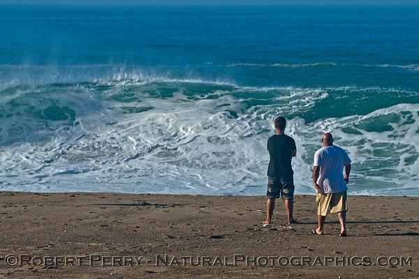 Hurricane Marie storm surf - Westward Beach/Zuma - Malibu
