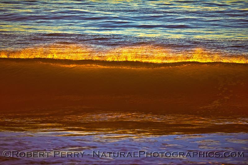 Sunset wave #2