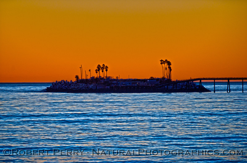 Sunset - Rincon Oil Island