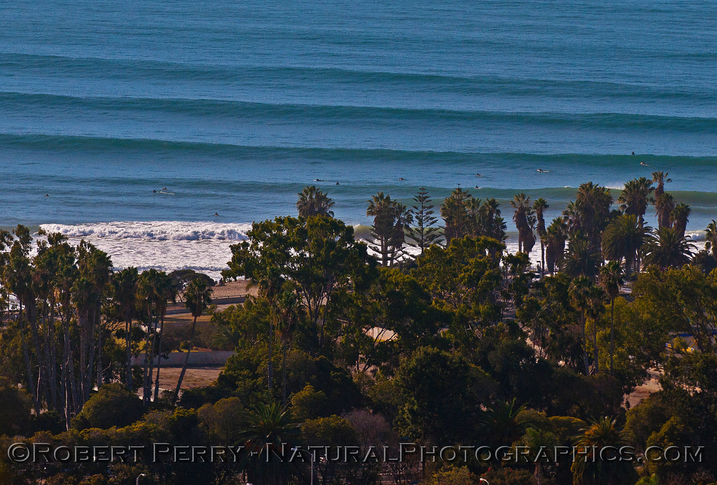 California Street surf spot - Ventura.   Pure corduroy.