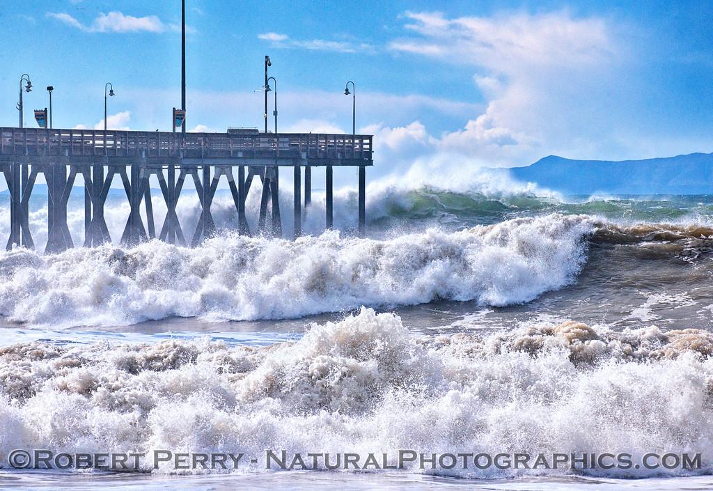 Waves Ventura Pier - 2016 01-07 Waves & Beaches-091