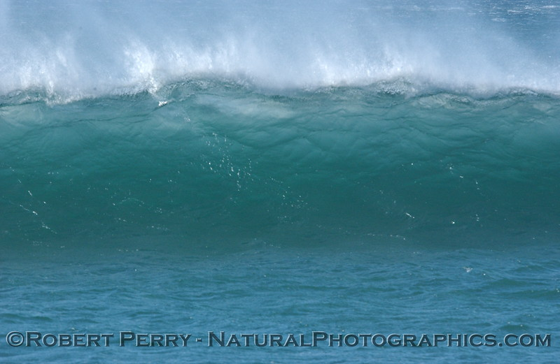 Wind and wave: offshore conditions at Zuma Beach.