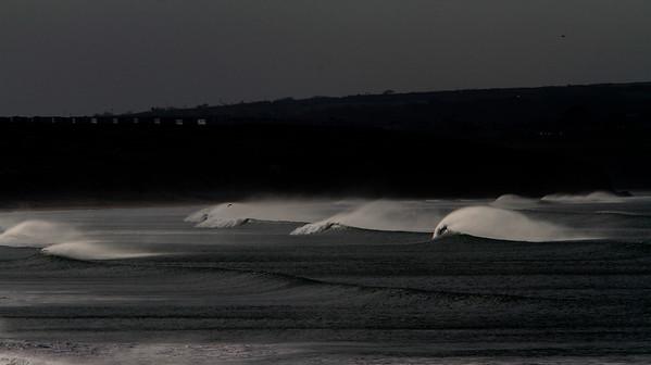 Waves at Godrevy