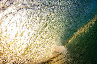 a perfect wave in Bali Indonesia