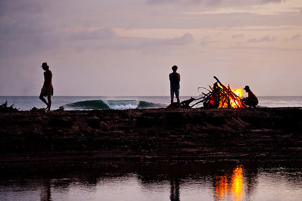 Perfect End to the Day in Nicaragua