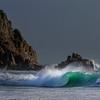 Storm, Eleanor hits  Cornwall, UK