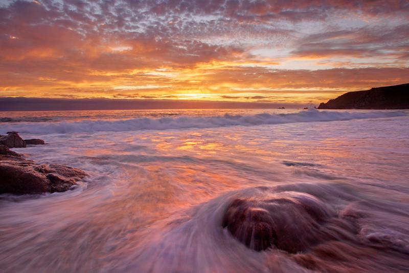 Cornish Sunset Hues
