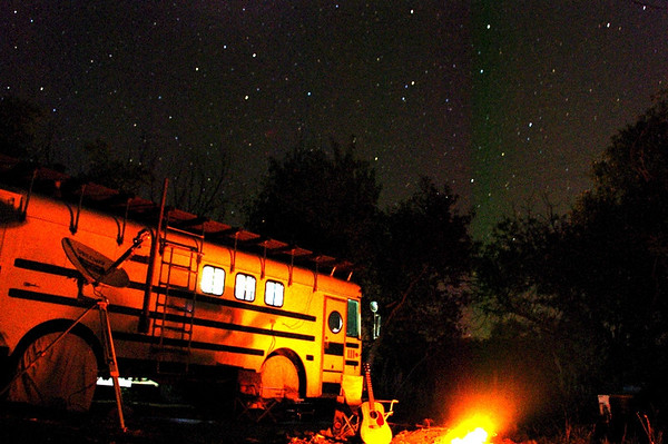 Wayfaring -- Living in the bus!