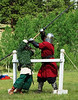 One-on-one duels with various weapons.