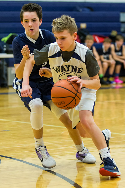 Wayne Eagles Modified Boys Basketball vs Mynderse 011117