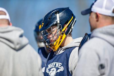 Wayne Eagles Varsity Boys Lacrosse Scrimmage @ Spencerport 032418
