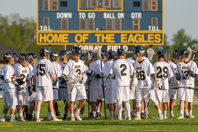 Wayne Varsity Boys Lacrosse vs Eastridge Sectionals 052317