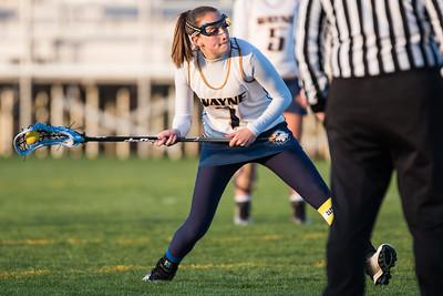Wayne Varsity Girls Lacrosse vs Midlakes 4-27-16