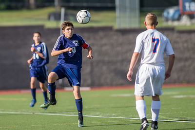 Wayne Eagles JV Boys Soccer at Penn Yan 090817