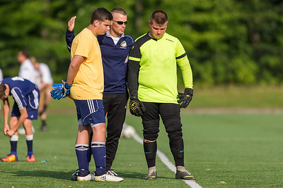 Wayne Eagles JV Boys Soccer at Spencerport 082917
