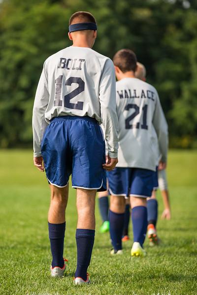 Wayne JV Boys Soccer at Geneva 091617