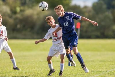 Wayne JV Boys Soccer at PalMac 092817