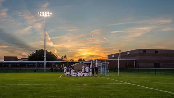 Wayne Varsity Boys Soccer vs Mynderse Academy 091217